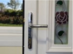 Chrome Lever Door Handle