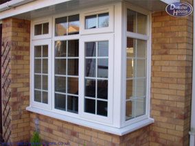 upvc bay windows upvc bow windows upvc double glazing dunster house. Black Bedroom Furniture Sets. Home Design Ideas