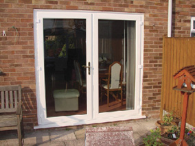 Upvc french doors double glazed french doors external for Double glazed upvc patio doors