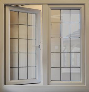 Upvc French Windows Specification on man opening door