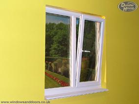 Upvc tilt and turn windows double glazed double glazing for Upvc french doors tilt and turn